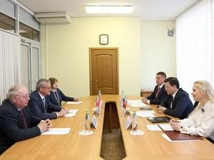 Глеб Никитин встретился с новым послом Австрии в России